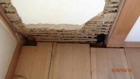 耐震壁施工