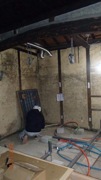 水回りの給水・排水配管は全て床下で可能です。