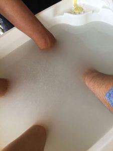 マイクロバブルトルネードというお風呂