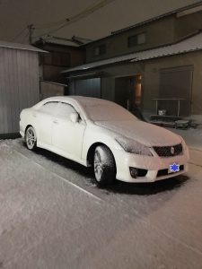 先週末の雪は大変でしたね