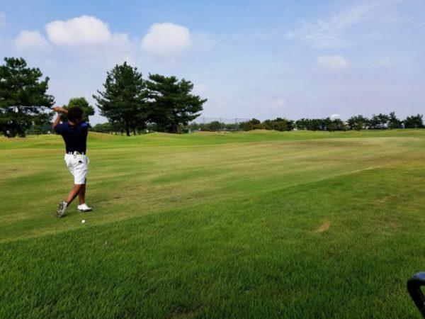 ゴルフへ行ってきました!