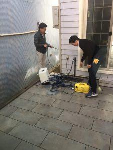 モデルハウスのお掃除