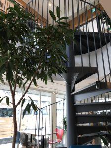 事務所の内部