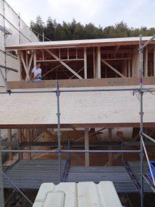 木造在来工法のお家です