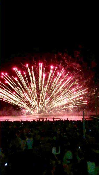 内海の花火大会