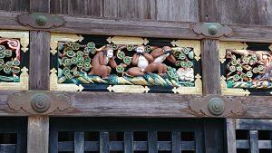 ほかにもたくさんお猿さんが居てビックリしました。     やはり実際に行ってみないと分からないことばかりです。     これからも古い建造物いろんなところへ観にいきたいですね。また何所かに行った際はおしらせします。     ではまた。