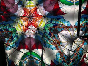 ギネスに認定されている巨大万華鏡
