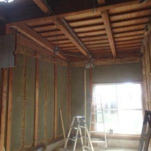 床・天井の解体