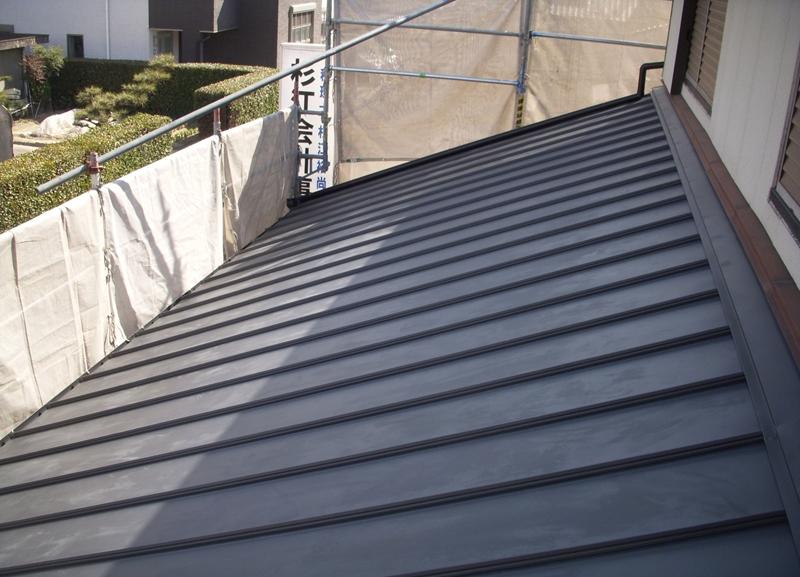 屋根が軽くなったから、耐震力もUP!!