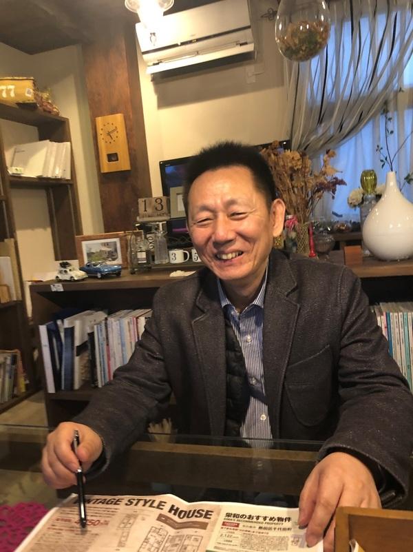 栄和興産で働く人たち【住宅事業部部長・矢治編】